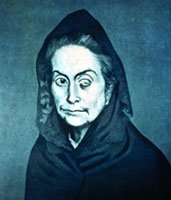 La Celestina (Pablo Picasso - 1903)